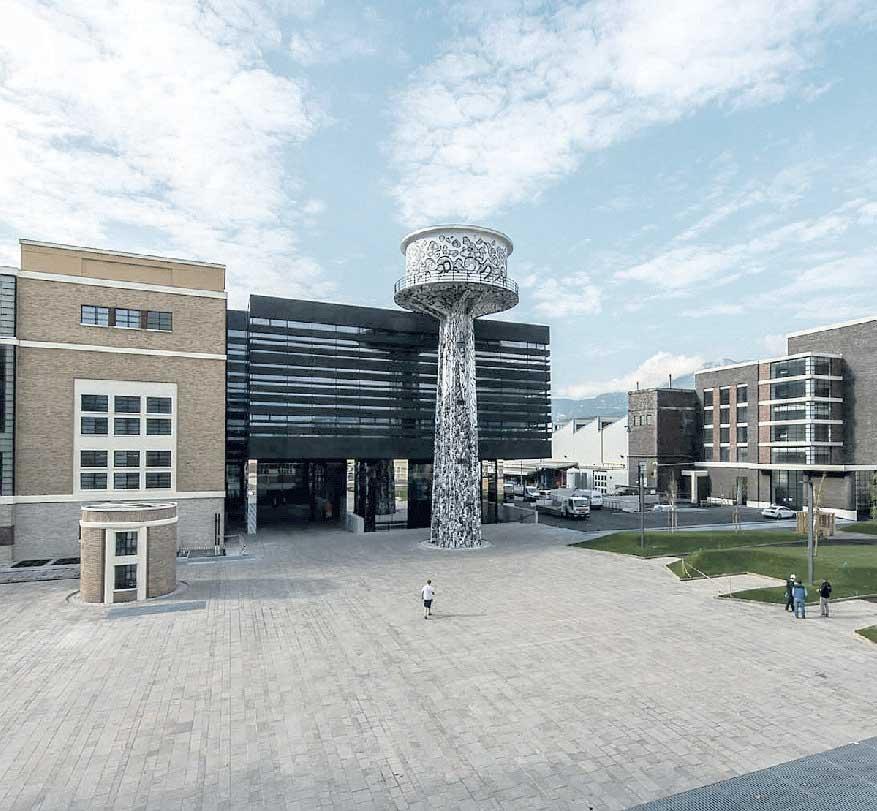 Un'ex fabbrica di alluminio riconvertita ospiterà 60 aziende e 20 laboratori di ricerca che uniscono pubblico e privato L'OPERAZIONE ROMA Il futuro è già qui. Anzi lì, perché la presentazione ufficiale avviene…